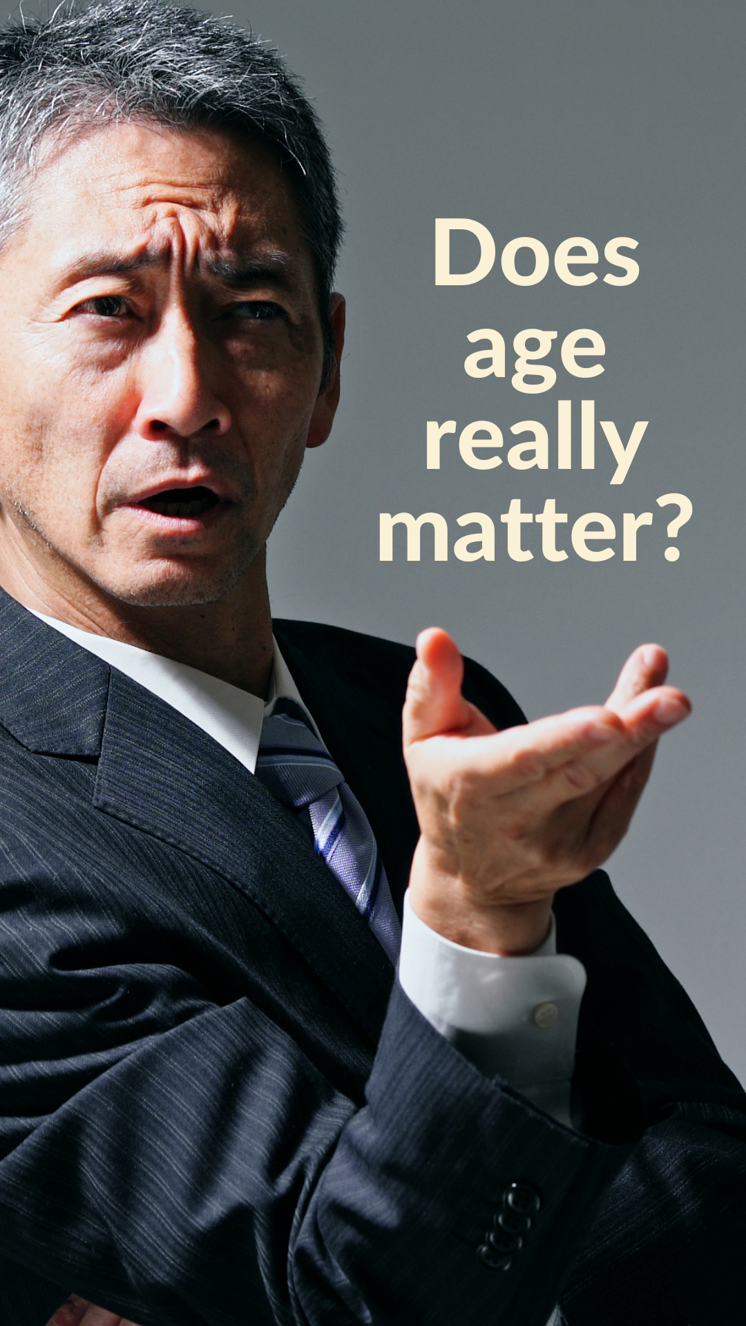 Does age really matter? Will being 50 years old deter people from hiring me?