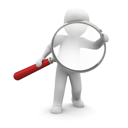 Searching for jobs with a recruitment agency.